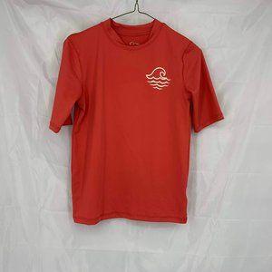 Art Class Size L Orange Swim Shirt